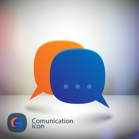 html5: Speech Bubbles Icon Illustration