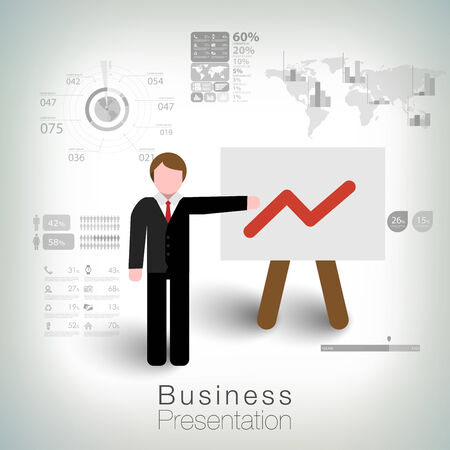 succes: Business succes concept design Illustration
