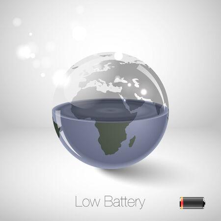 ahorrar agua: Concepto de protección del medio ambiente