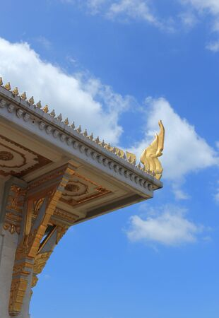 Wat Sothonwararam is a temple in Chachoengsao Province, Thailand photo