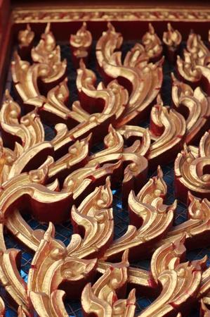 kanok is art of thai style photo