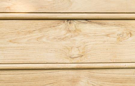 Closeup teak wood detail of external house wall