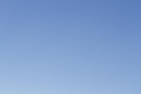 Gradient of bright blue sky