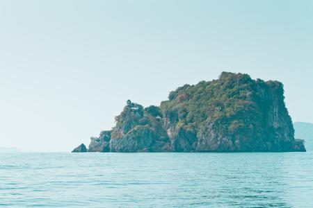 Island in southern Thailand sea Archivio Fotografico