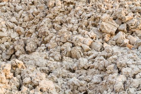 Closeup to dry of soil texture Archivio Fotografico