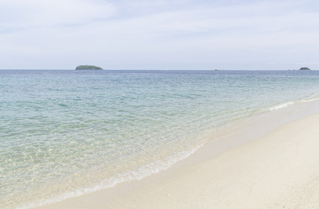 Waves on the 'Koh Lipe', The beach in southern Thailand's Satun province