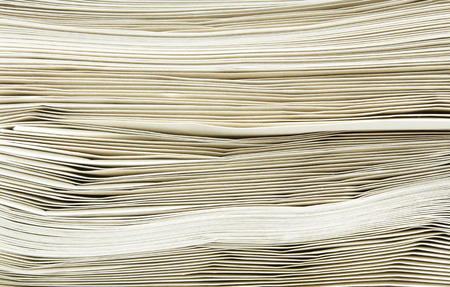 Close up stack of envelope