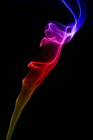 Rainbow Smoke Stock Photo - 4627430