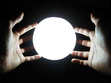 spiritual meditation creation: Magic Hands