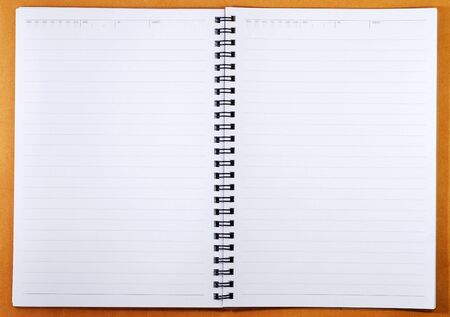 Blank Spiral Note Stock Photo - 4816275