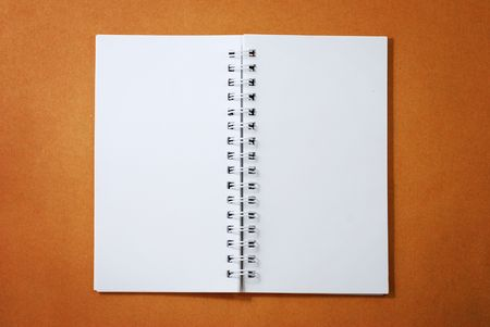 Blank Spiral Notepad Stock Photo - 4816274