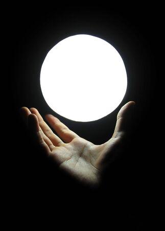 chi healer: Hand Hold Magic Marble