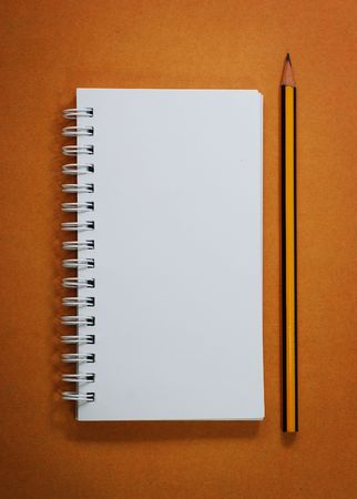 Note and Pencil Stock Photo - 4816277