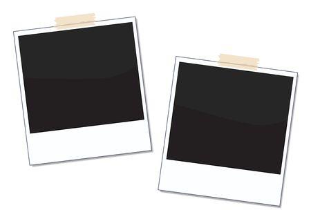 Polaroid Frame Imagens - 4816266