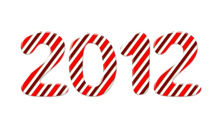 Candy new year 2012 Stock Photo - 11698096
