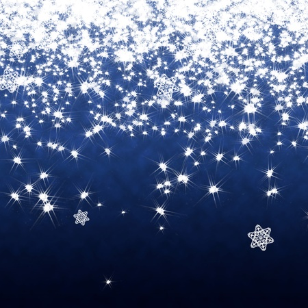 Star falling background Stock Photo - 11698109