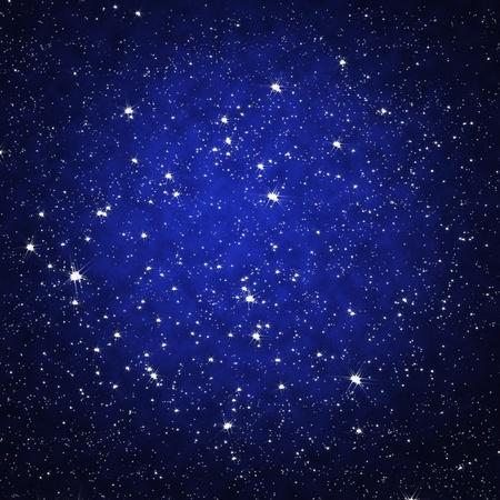 Star sur le ciel de nuit Banque d'images