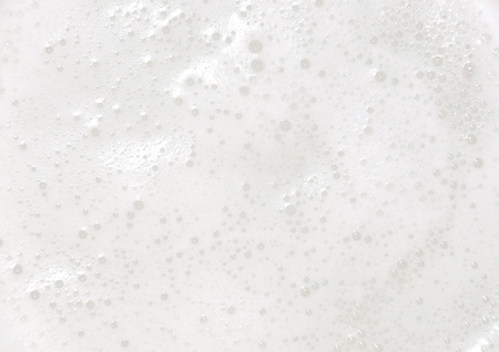 soapy water: White foam Stock Photo