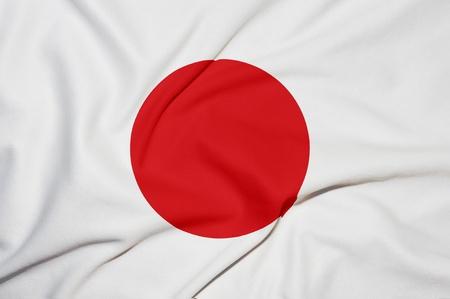 Japan flag background photo