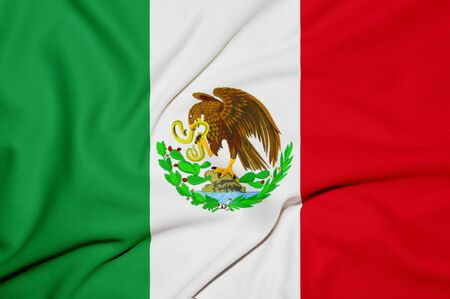 Mexico flag background photo