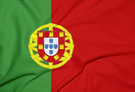 portugal flag background Stock Photo - 13362152