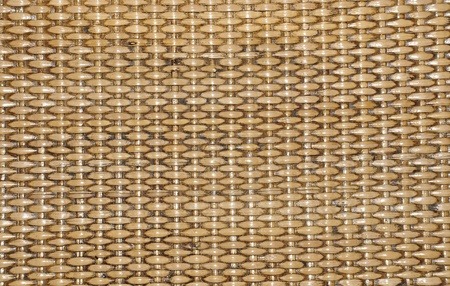 rattan weave texture background photo