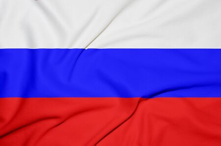Russia flag background photo