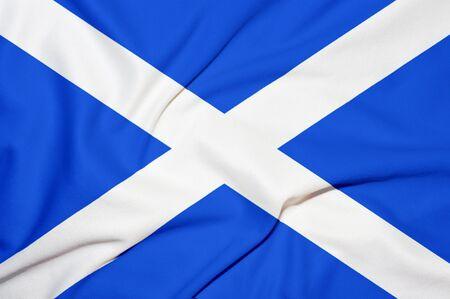 scotland flag background