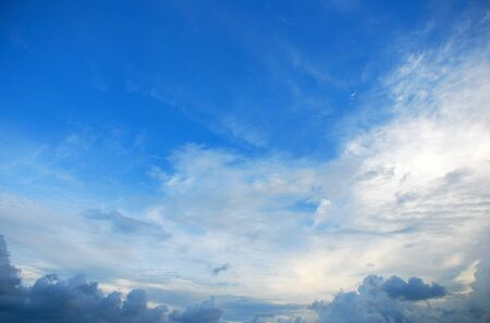 Sky and clouds background Stock Photo - 13362127