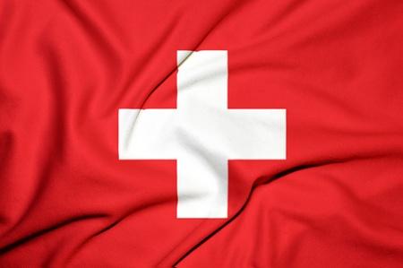 zwitserland vlag: zwitserland vlag achtergrond Stockfoto