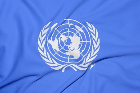 naciones unidas: De las Naciones Unidas fondo de la bandera