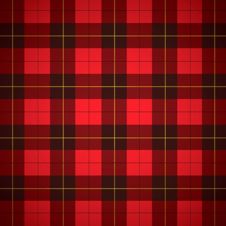 Wallace tartan Scottish plaid Background Stock Photo