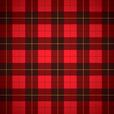 Wallace tartan Scottish plaid Background Stock Photo