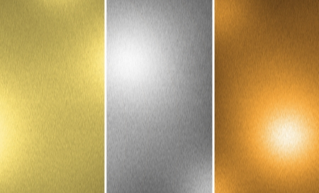 silver alloy: Gold Silver Bronze texture background
