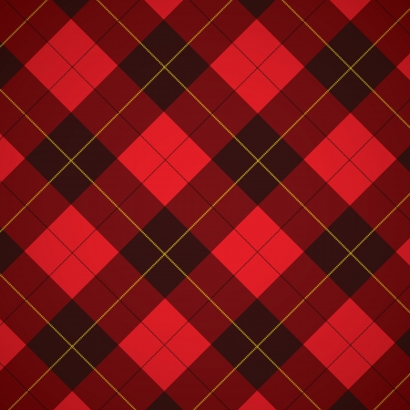 Wallace tartan Scottish plaid background Banco de Imagens - 13803161
