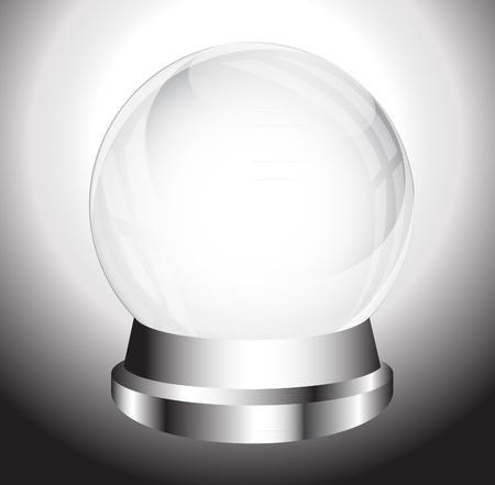 Crytal ball Stock Vector - 13928888