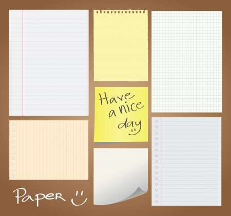 Set of paper designed Stock Vector - 13928874