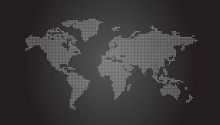 dotted world map: World Map Dotted