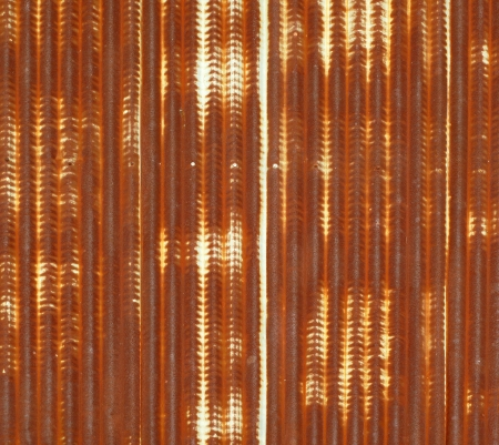 Close up of corrugated metal with rust background Stock Photo - 15115331