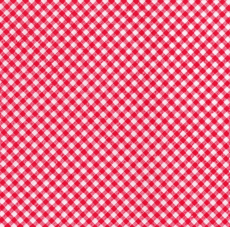 Red and white tablecloth picnic fabric Stock Photo - 15115383