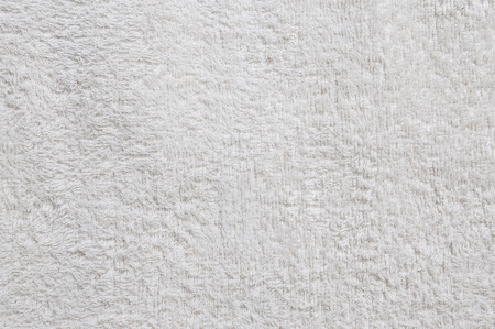 Texture of white towel background photo