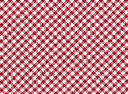빨간색과 흰색 줄무늬 원활한 식탁보 배경