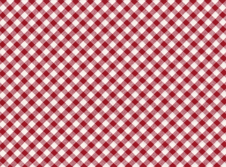 Red and white striped seamless tablecloth background photo
