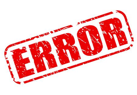 poronienie: Tekst błędu czerwony znaczek na białym