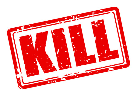 kill: KILL red stamp text on white