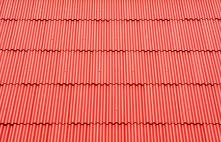 tiled: Red roof tiled texture background
