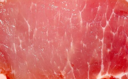 Texture of raw pork meat background photo