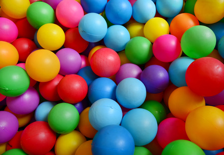 playcentre: Colorful plastic balls background