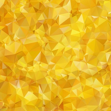 Abstract triangle gold texture background Imagens