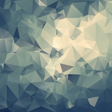 Abstract geometrical polygon multicolored background
